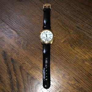 Betsey Johnson genuine leather watch